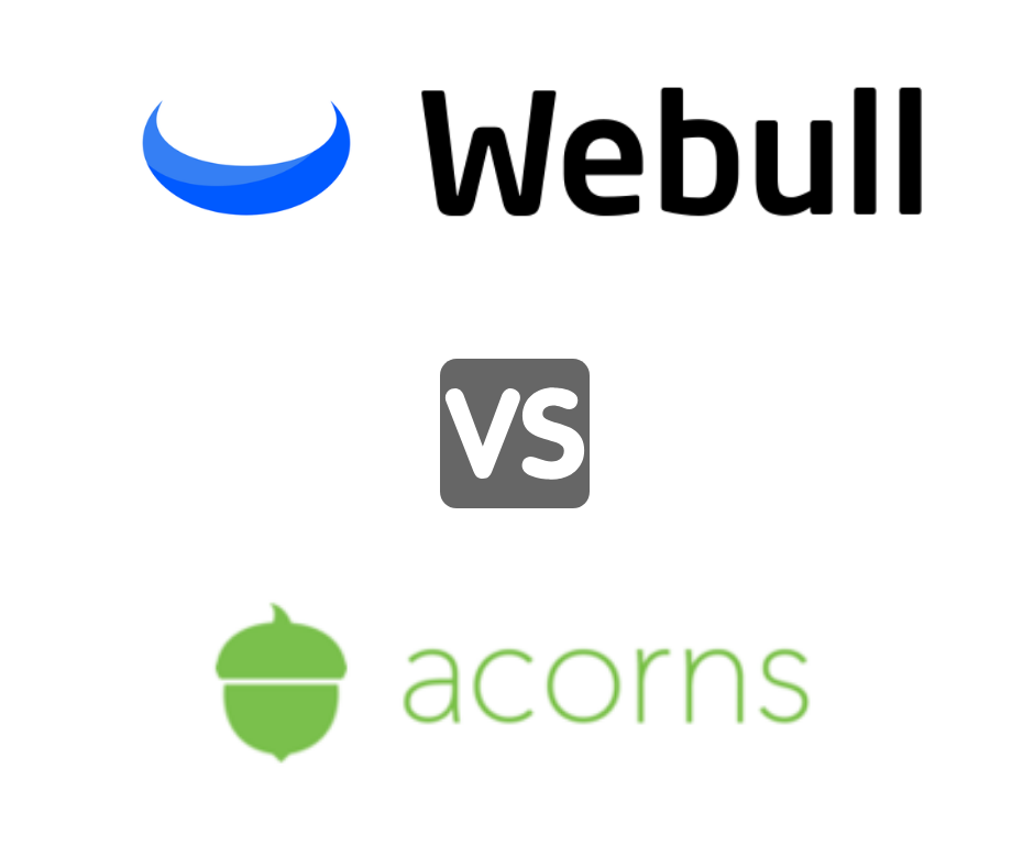 webull vs acorns