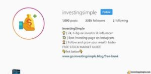 investingsimple instagram page