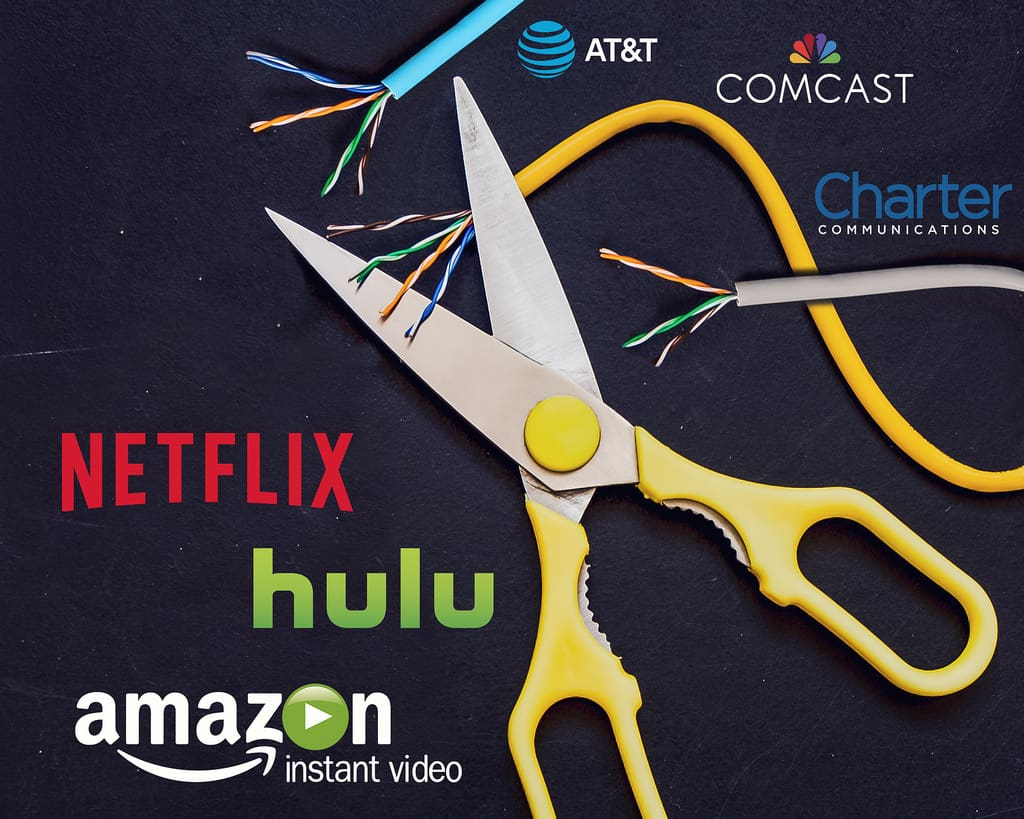 Cutting the cable subscription can save you hundreds of dollars each month.
