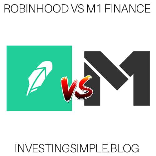 A comparison review between Robinhood vs M1 Finance free investing platform.