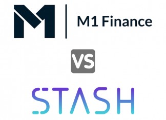 m1 finance vs stash investing platform review