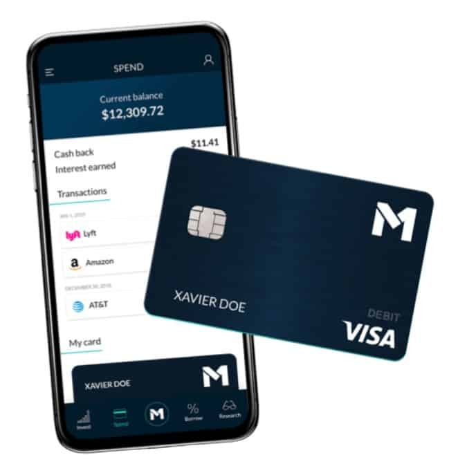 M1 spend allows you to merge your brokerage account with your checking account. This lets you pay for purchases and invest your money all in one place. M1 spend is a one stop place for all your money.
