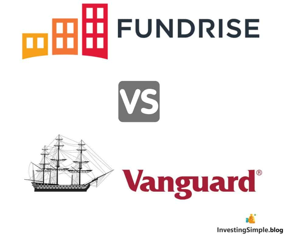 Fundrise vs vanguard best real estate investing platform