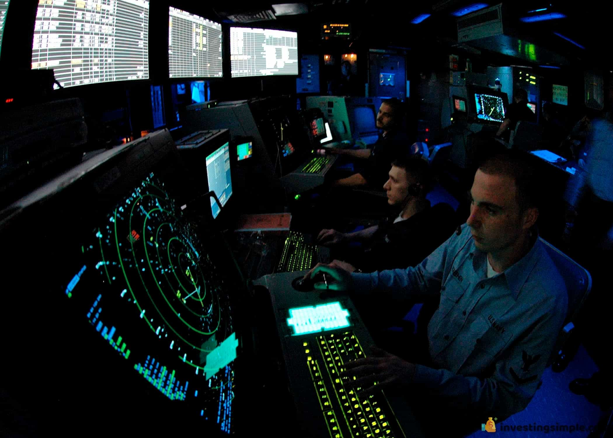 Through military training, you could make some serious money as an air traffic controller.