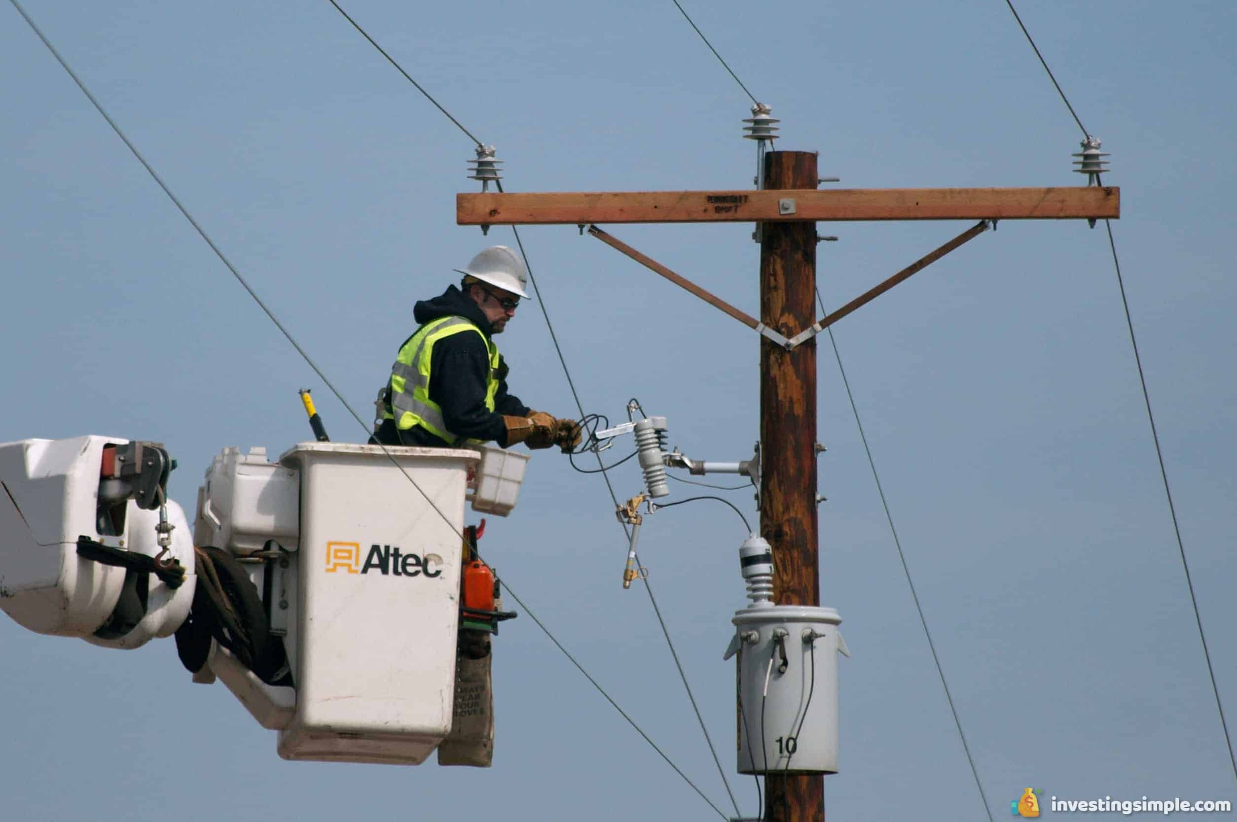 Being a utility worker is a high paying job that doesn't always require a college education.