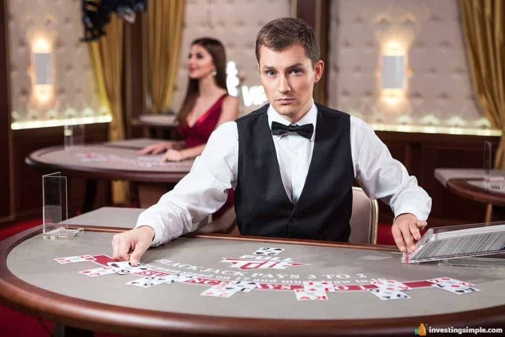 After your on the job training, you can make great money as a casino attendant.