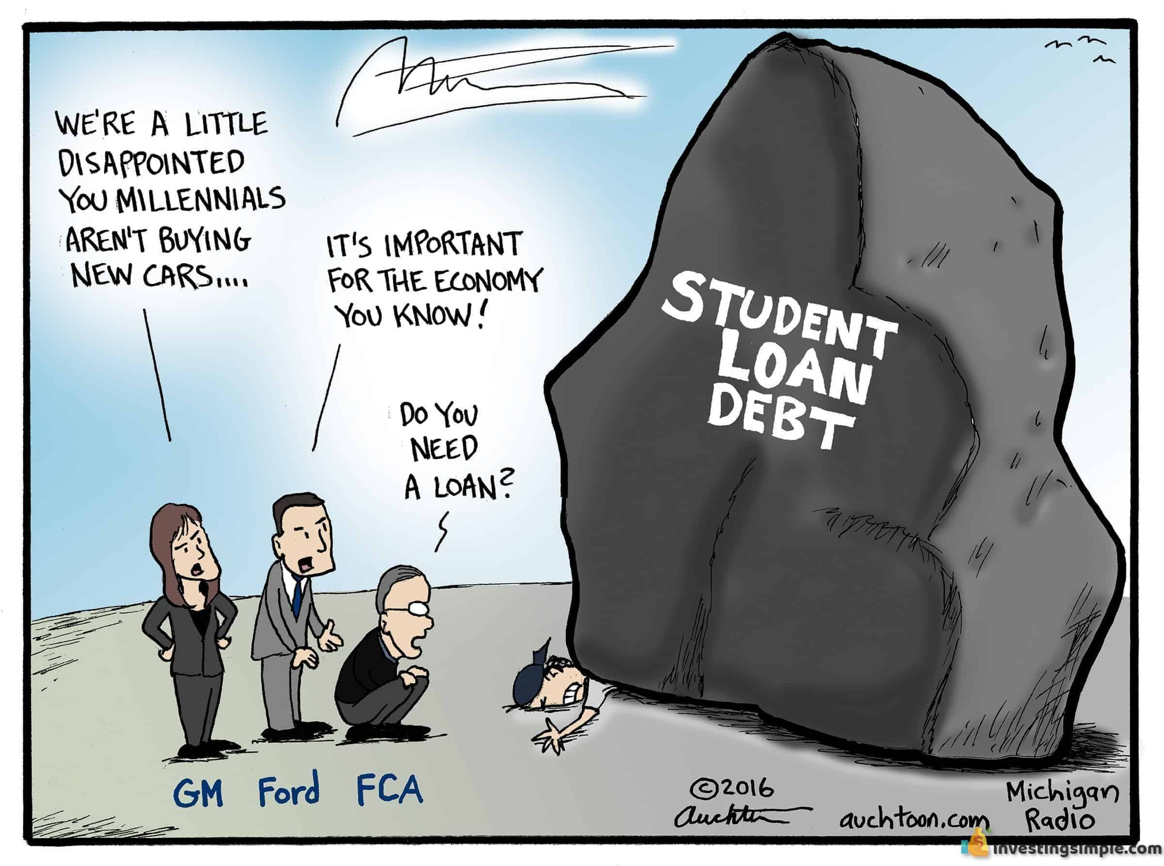 Student loan debt is a major deterrent for going to college.