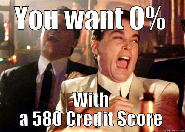 It will be near impossible to get a good loan with a bad credit score. You will want a higher credit score so you can get a lower interest rate when you take out a loan.
