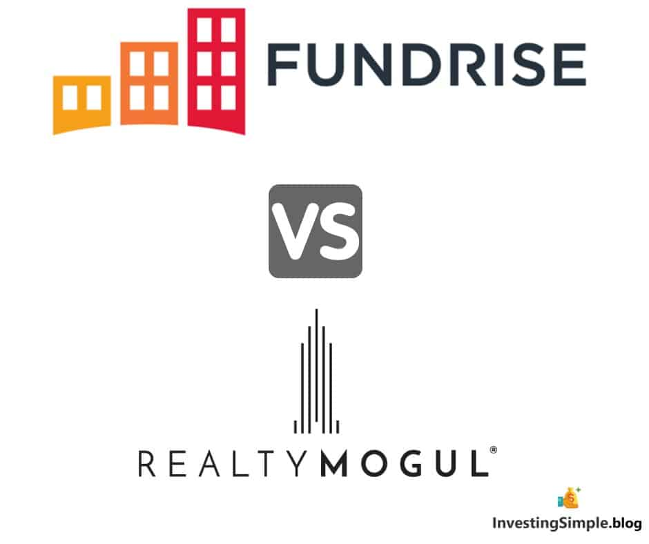Fundrise vs Realty Mogul comparison review article.