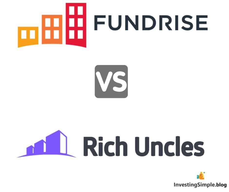 Fundrise and Rich Uncles offer cutting edge real estate investment platforms. In this Fundrise vs Rich Uncles review we will discuss the similarities and differences between fundrise vs rich uncles.
