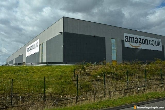 Investing in an industrial real estate warehouse building.