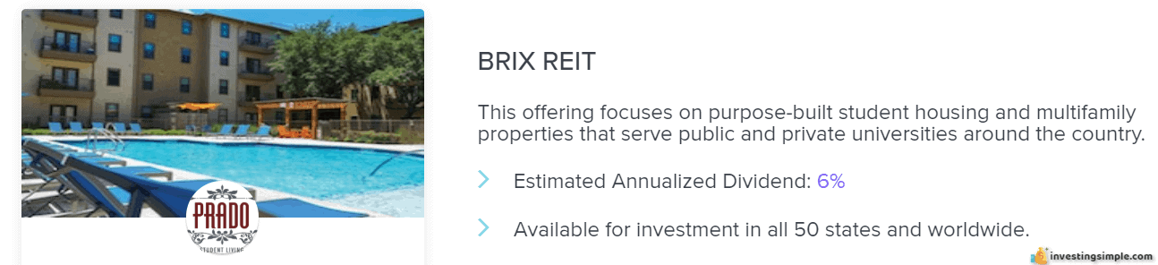 Rich uncles brix reit