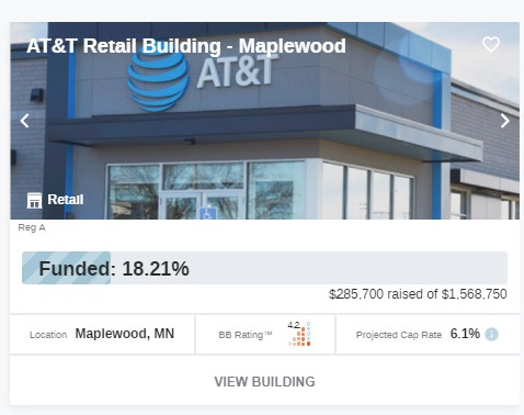 Buildingbits invest in a variety of different real estate projects. This project is an AT&T bulding in maplewood MN.