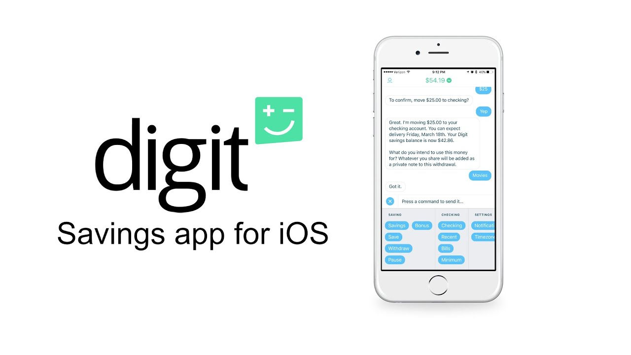 Digit is a money saving app similar to what is being offered by Twine.