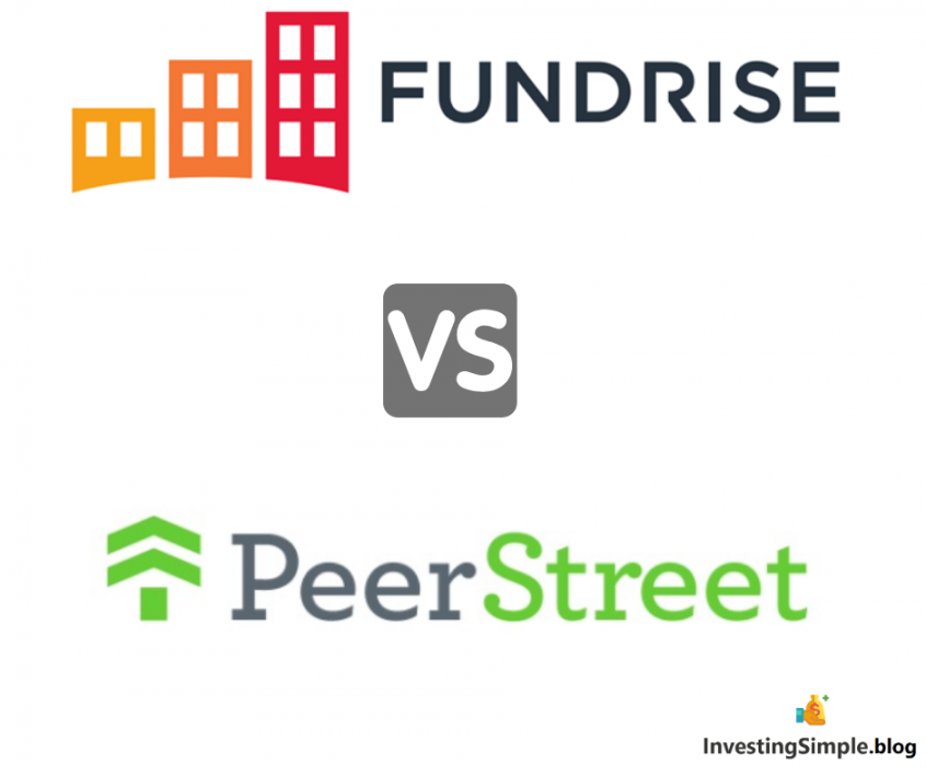 Fundrise vs PeerStreet crowdfunded real estate investing platforms. Which is the better investment platform? Fundrise equity and debt real estate portfolios vs PeerStreet real estate debt investments.