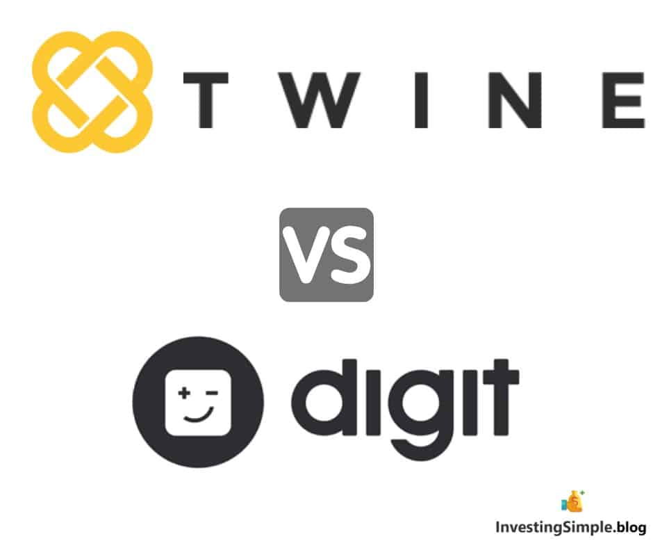 Twine vs Digit savings platform review. Which is the best savings app?