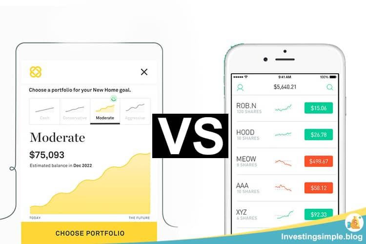 twine vs robinhood investing app comparison