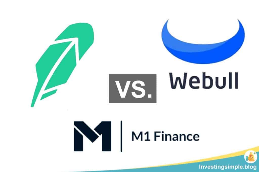 Robinhood vs. Webull vs. M1 Finance