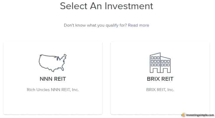 rich uncles investment types