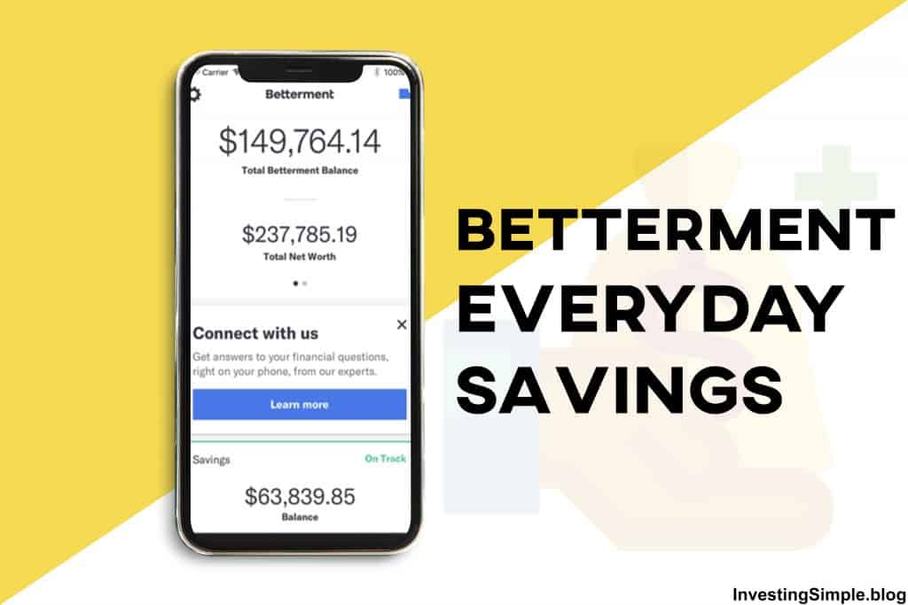 Betterment Everyday Savings