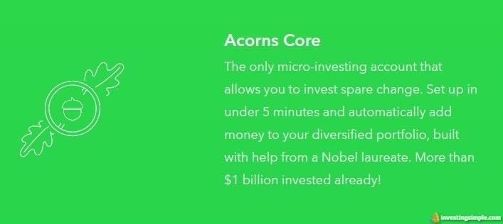 acorns core