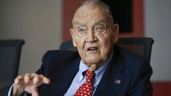 Jack Bogle, founder of Vanguard
