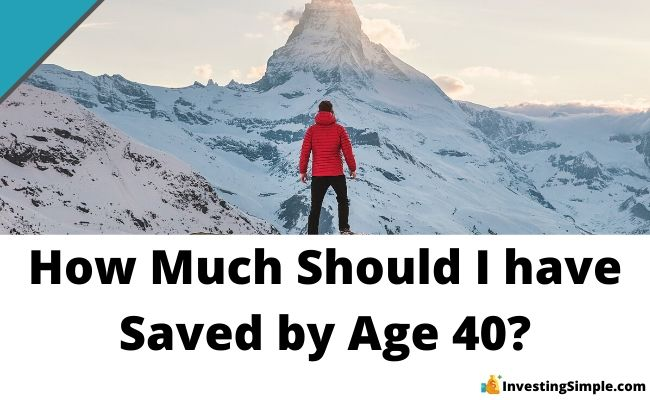 how much saved by age 40?