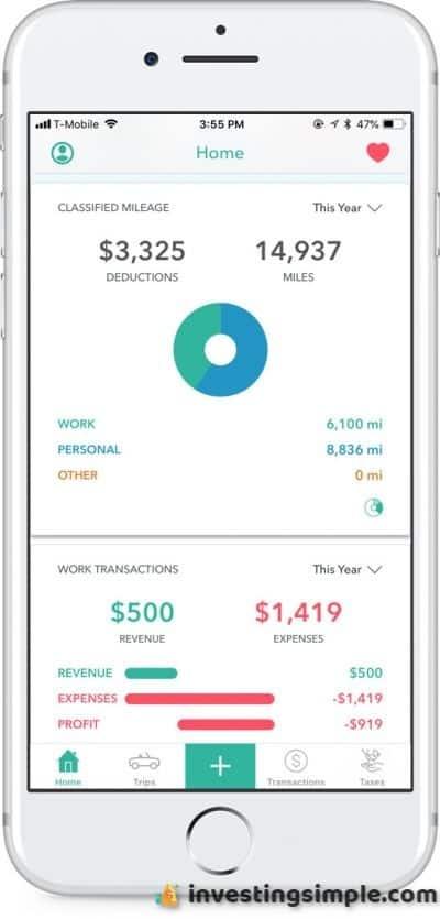 Everlance mileage tracker app