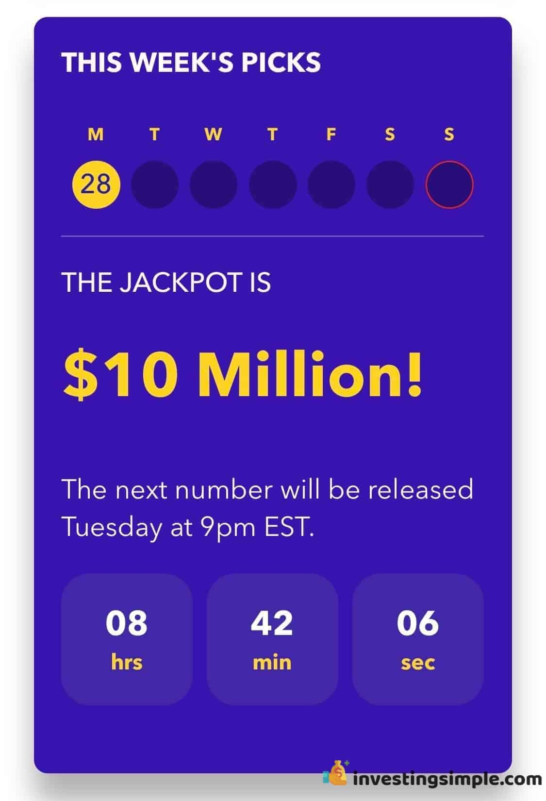 With Yotta you have the chance to win up to 10 million weekly