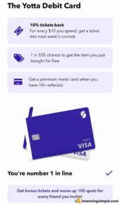Yotta Debit Card