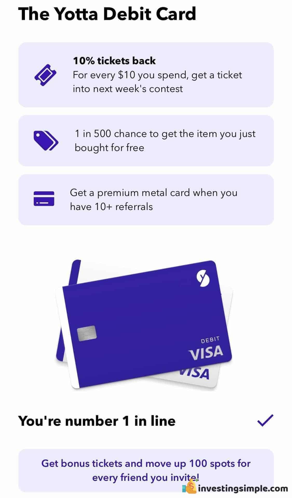 Yotta Debit Card