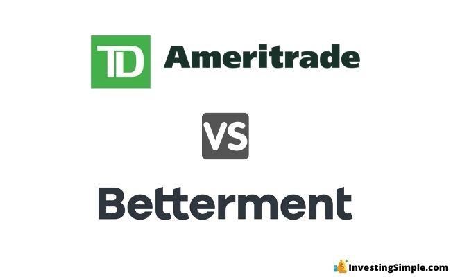 td ameritrade vs betterment