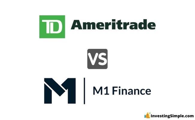 TD ameritrade vs m1 finance