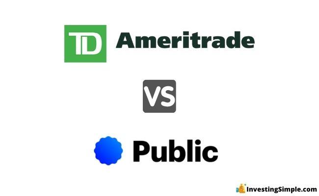 td ameritrade vs public