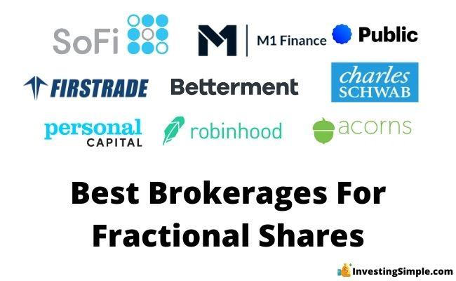 best brokerages for fractional shares