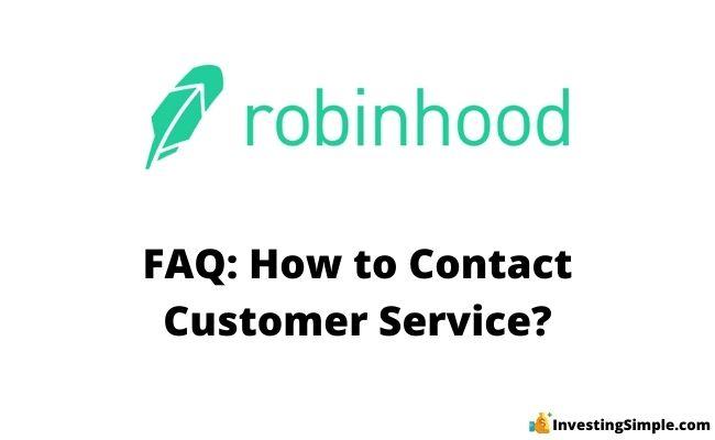 How to contact robinhood customer service