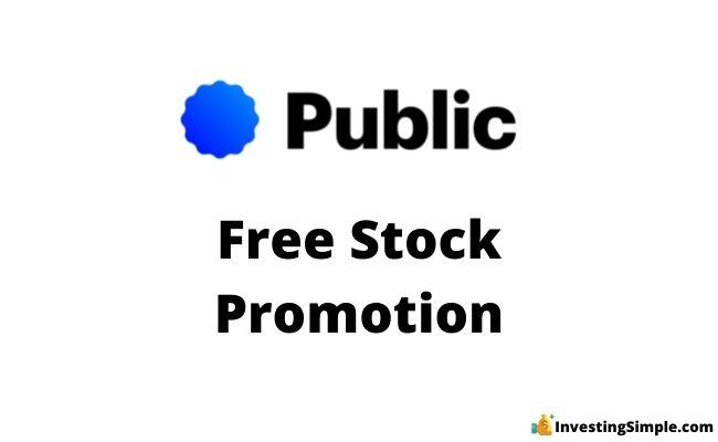 Public free stock promotion