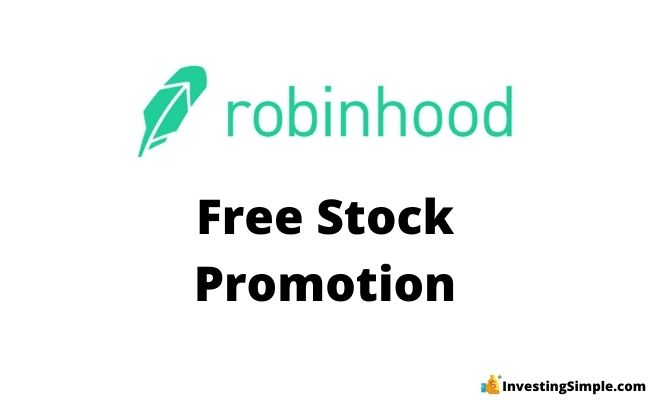 robinhood free stock promotion bonus