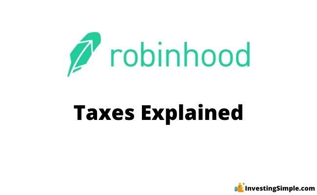 robinhood taxes explained