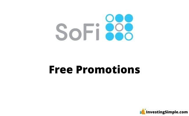SoFi free promotions sign up bonus