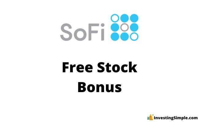 SoFi free stock promotion