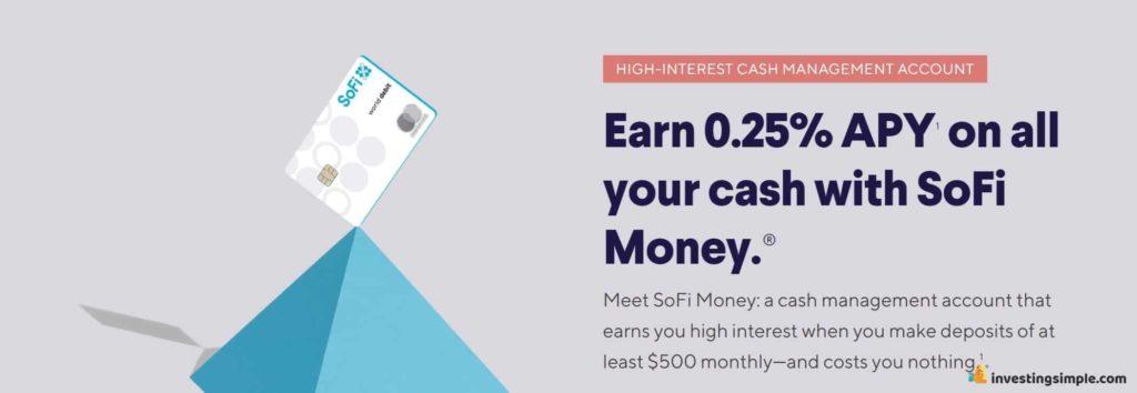 sofi money interest rate