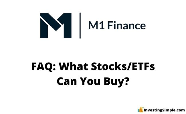 what stocks and etfs can you buy on m1 finance