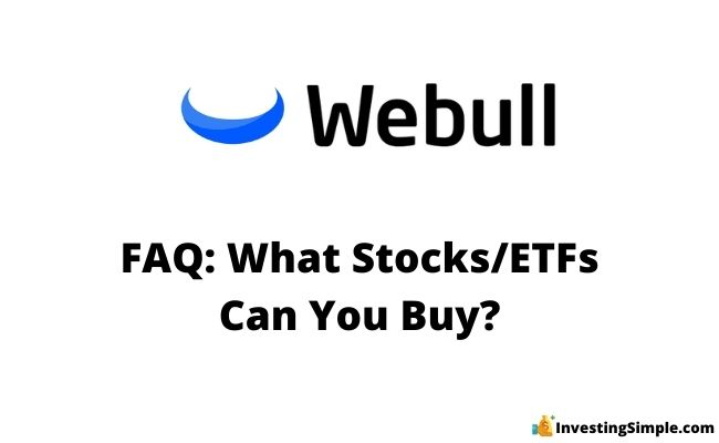 what stocks and etfs can you buy on webull