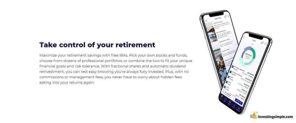 m1 finance retirement