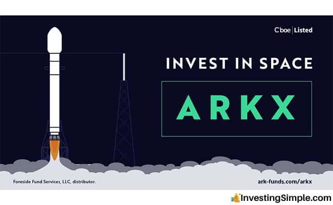 ¿Se puede comprar ARKX?