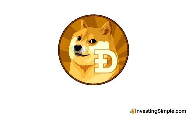 Imagen de robinhood de Dogecoin vista