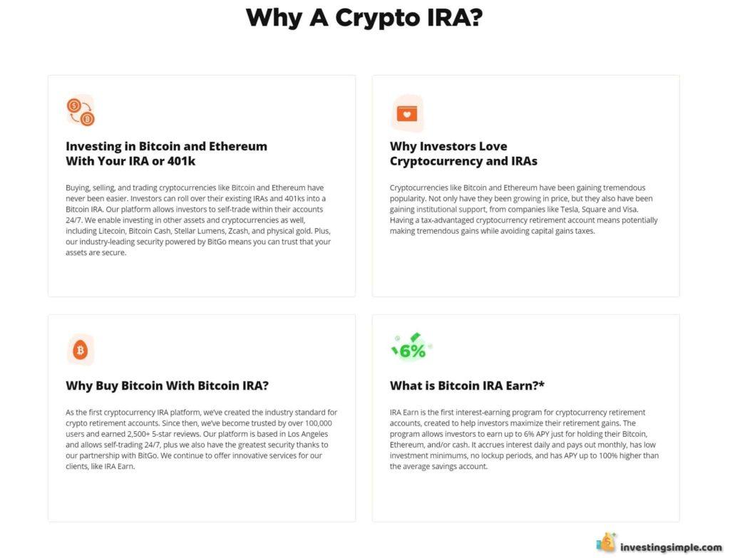 bitcoin ira por qué cripto