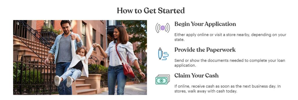 check into cash how to get started