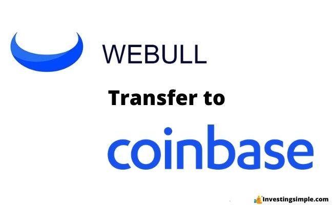 webull transfer to coinbase